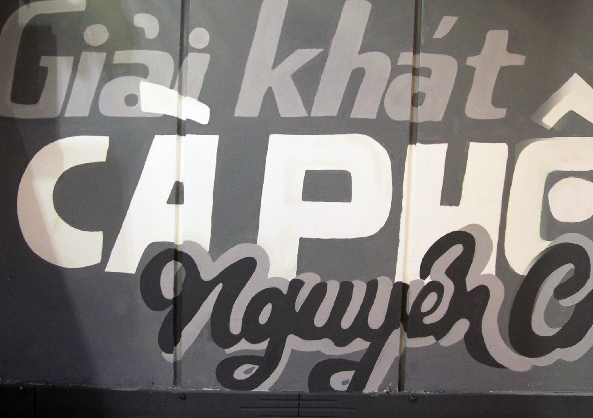 A tribute to handpainted Vietnamese signage